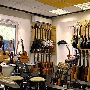 Музыкальные магазины Большевика